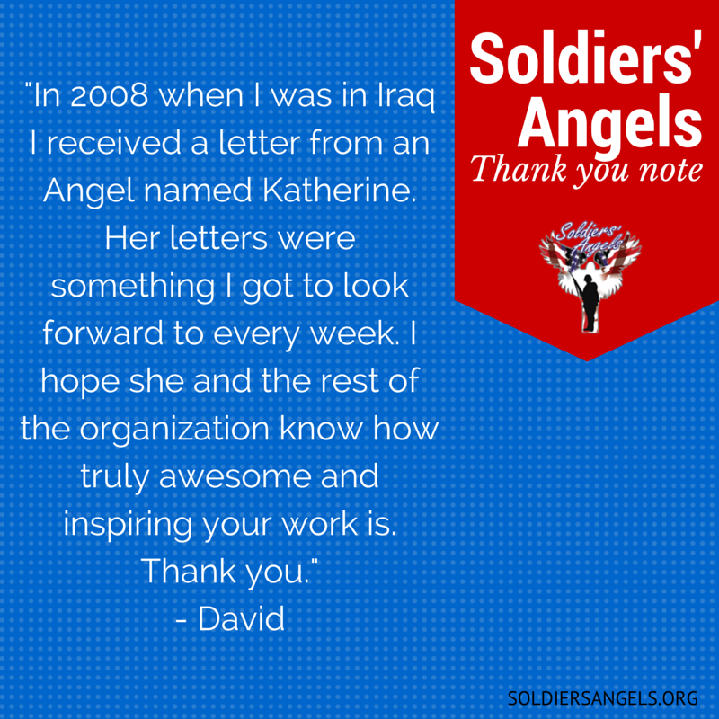 Soldiers angels national card and letter writing month the letter writing team m4hsunfo