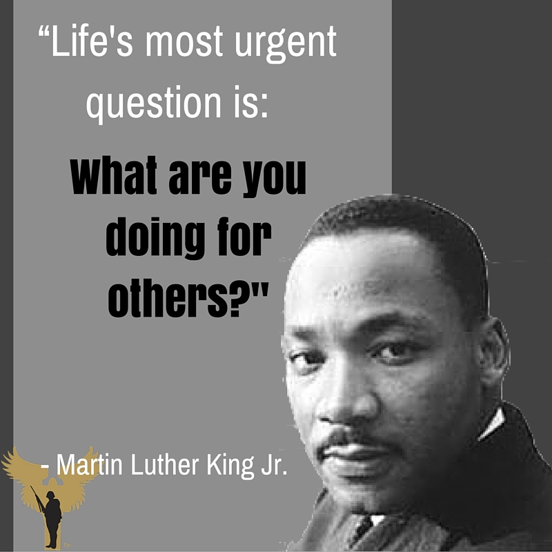 Soldiers Angels What Martin Luther King Jr Can Teach Us About