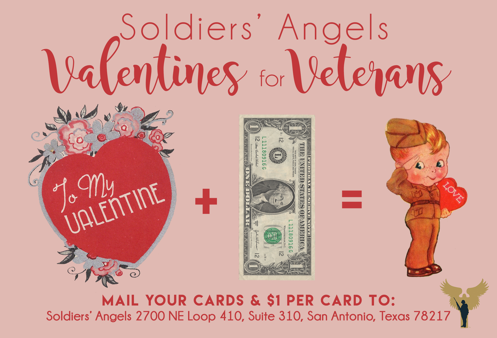 soldiers' angels - send our troops and veterans valentines this, Ideas