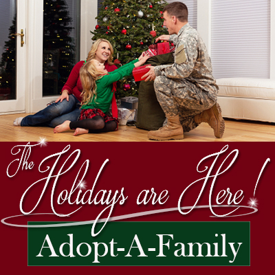 A Veterans Christmas.Soldiers Angels Adopt A Family Open For Military Veteran