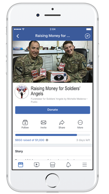 Soldiers Angels Your Donations On Giving Tuesday Will