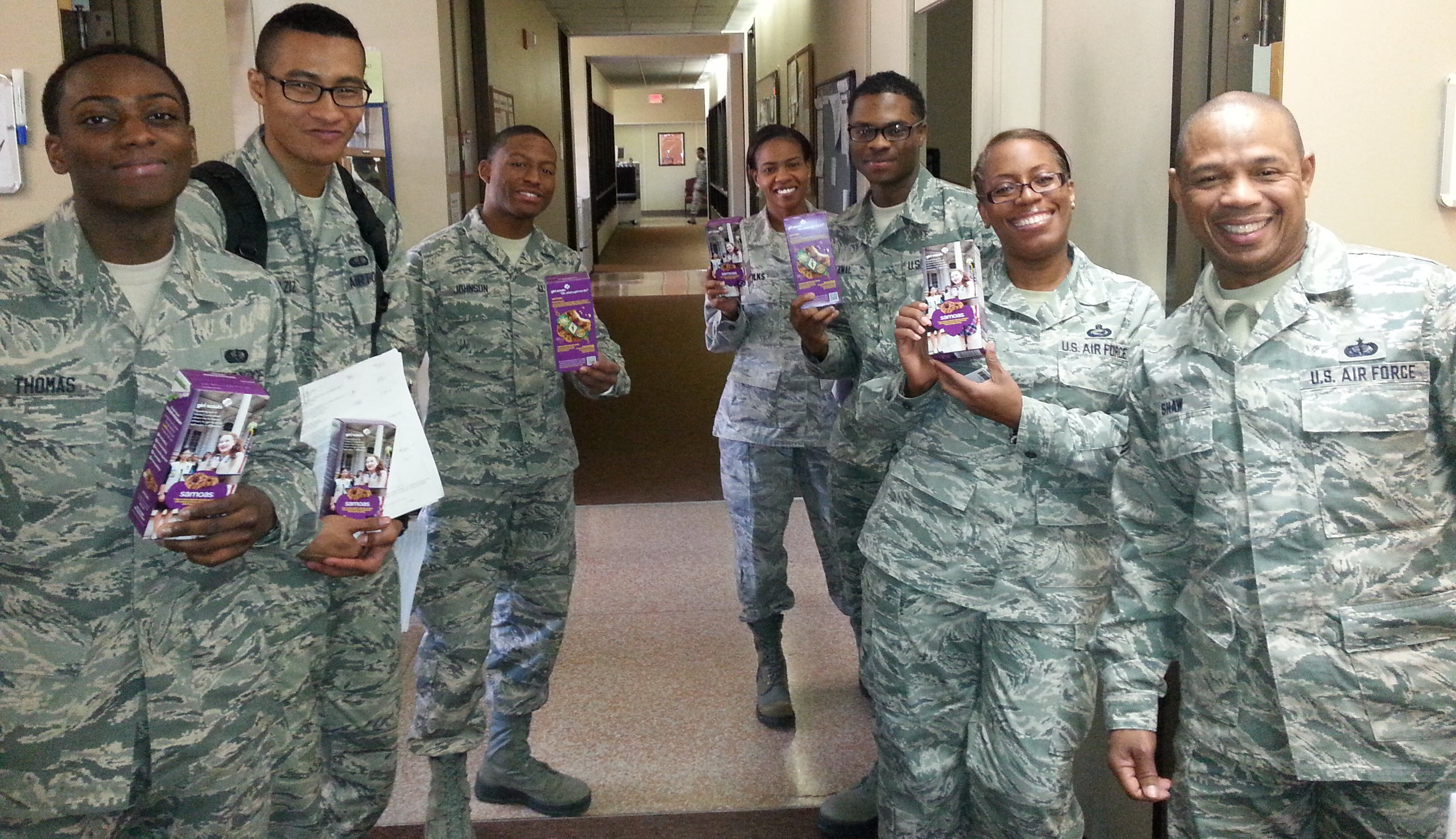 Soldiers\' Angels - Girl Scout Cookies for our Troops!