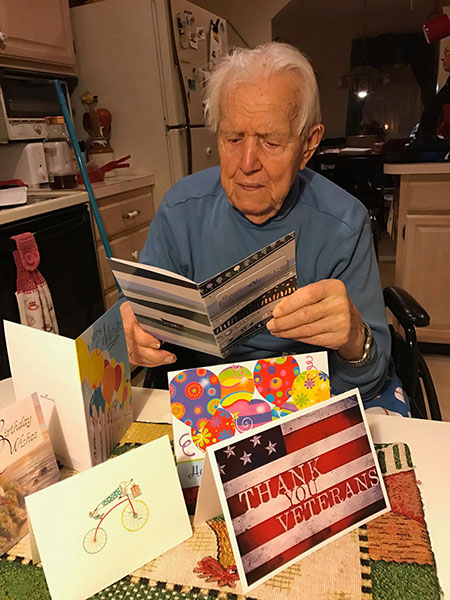 Soldiers angels cards plus team soldiers angels i simply want to say thank you for making my dads birthday so special this year with the many cards and kind notes you sent him m4hsunfo
