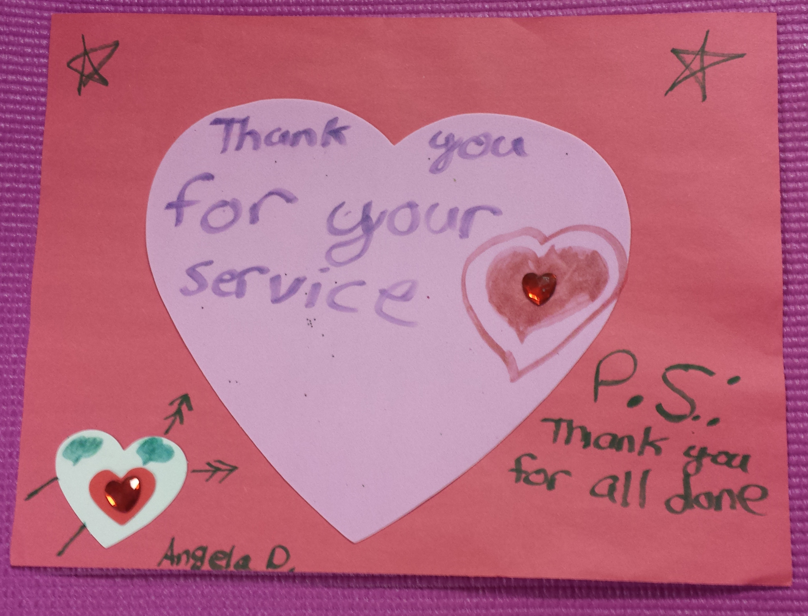 Soldiers Angels Spreading Love This Valentines Day