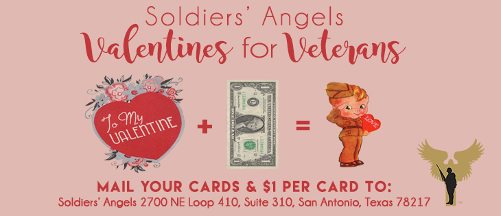 Soldiers Angels  Valentines for Veterans