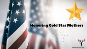 Gold Star Mother's Day banner