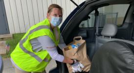 Volunteer to Feed Charleston Veterans
