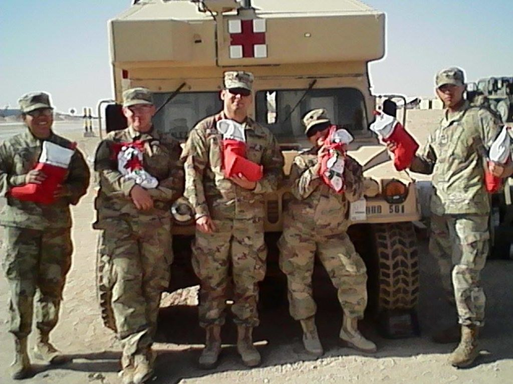 Holiday Stockings for Heroes Corporate Giving