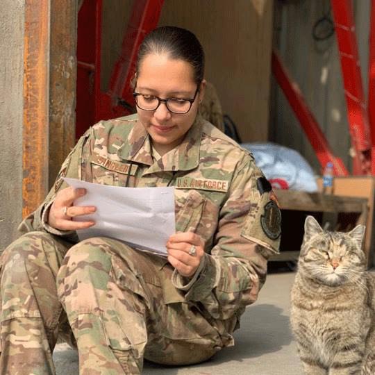 Military pen pals online