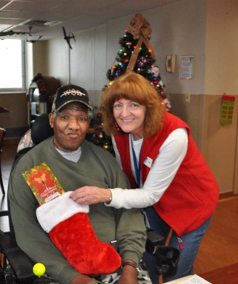 Holiday stockings for heroes at VA Hospitals