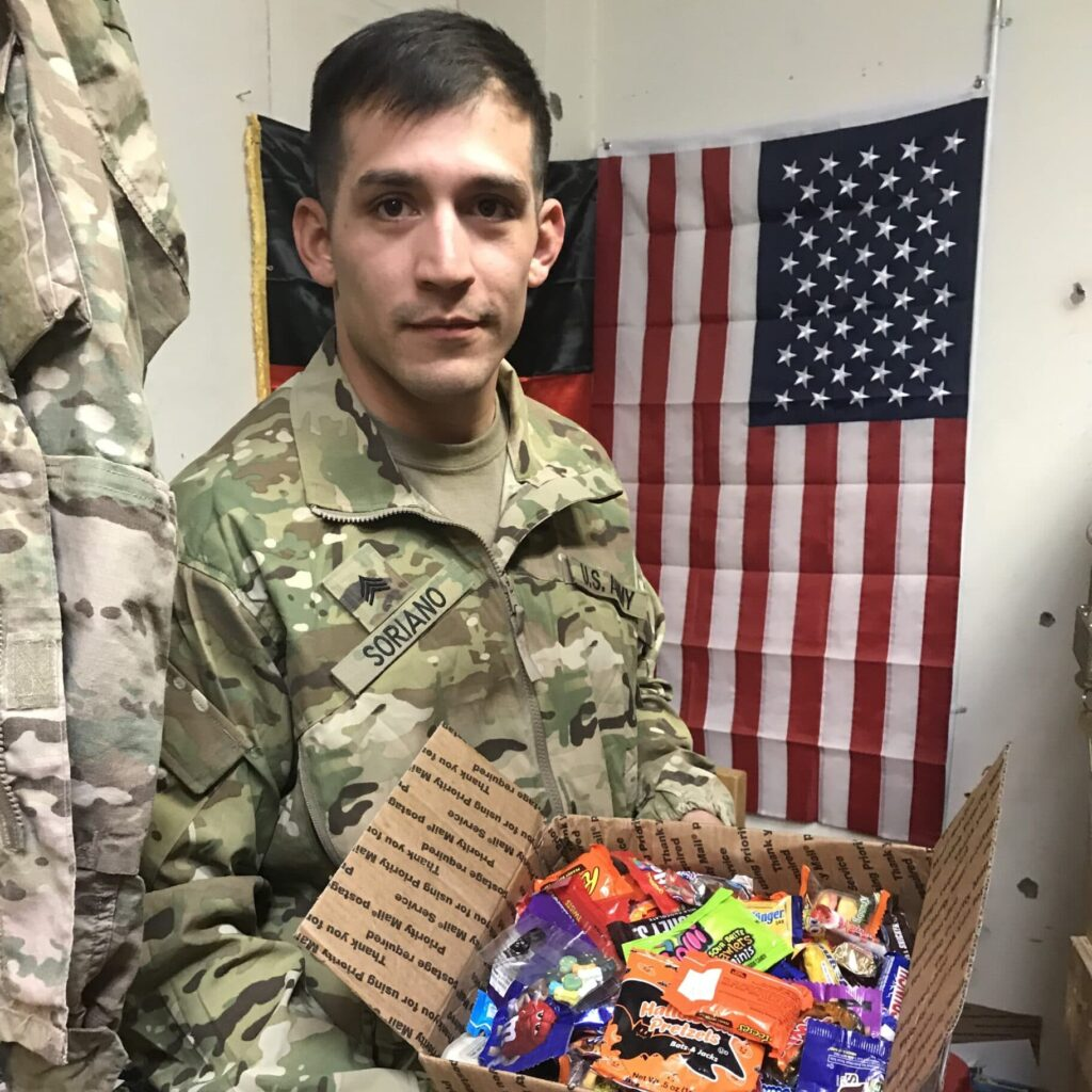 Treats for Troops Reaches Deployed