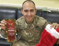 Holiday Stockings for Heroes reach deployed service members!