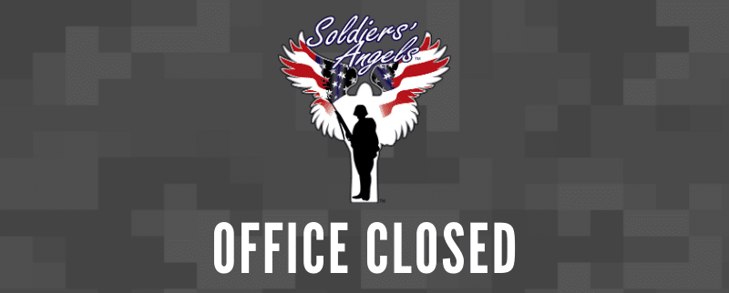 Soldiers' Angels Office Closed