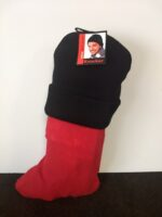 Seal a Holiday Stocking for Heroes with a stocking cap