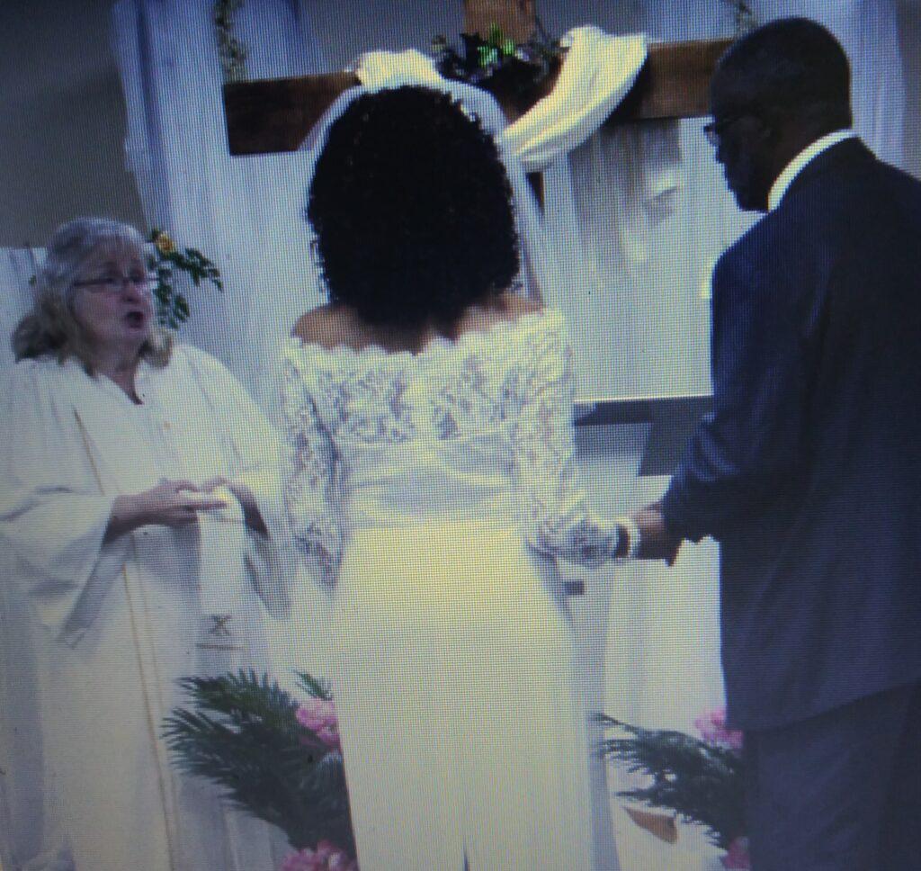 Reverand Gray, Cheryl and Walter