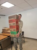 Girl Scout Cookies delivered to DC National Guard 2020
