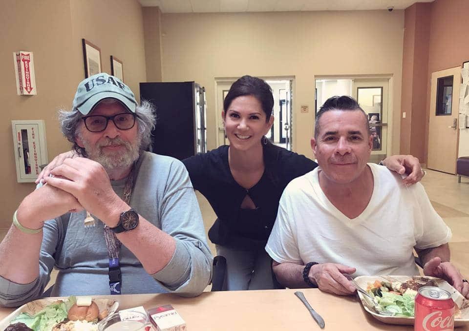 VA Hospital veteran luncheon pre-COVID
