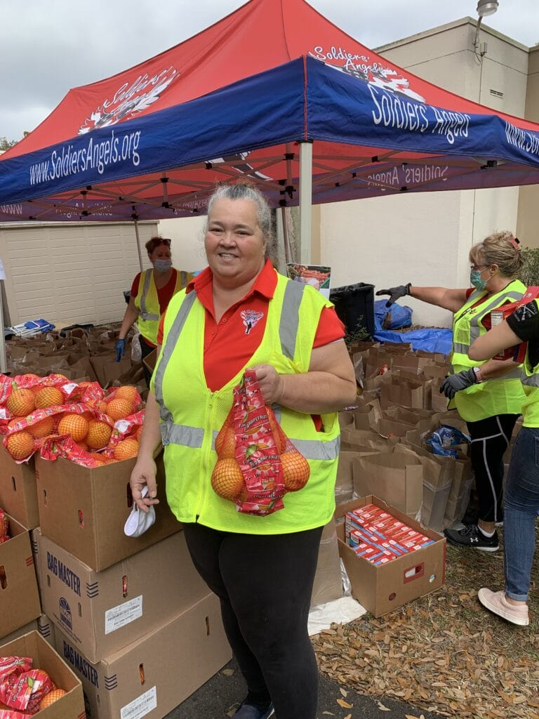 2020 VA Volunteer of the Year, Carol Adams
