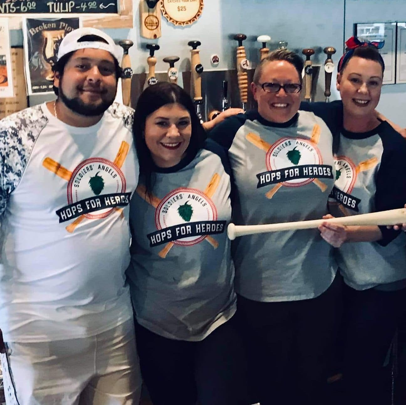 Soldiers' Angels Hops for Heroes